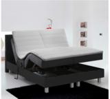 Elektrische Boxspringset incl. hoofdbord, matrassen en topdekmatras. _