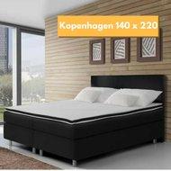 Boxspring-Kopenhagen-140x220-compleet