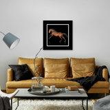 Dibond art - Brown horse_
