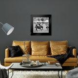 Dibond art - Horse jockeys_