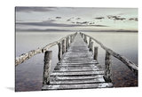 Dibond art - Wooden bridge_