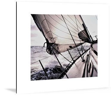 Dibond art - Sailing