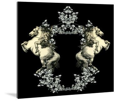 Dibond art - Paarden