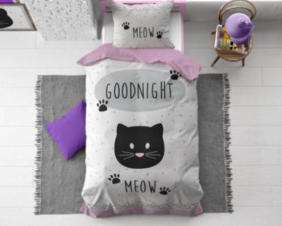 Goodnight kitty pink