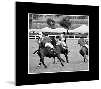 Dibond art - Horse jockeys